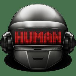 Daft Punk Thomas Human icon