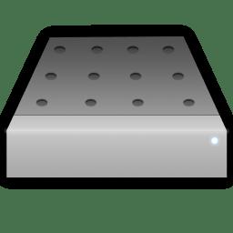 Portable hd icon