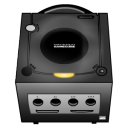 Gamecube black icon