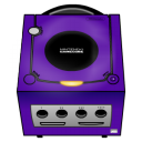 Gamecube purple icon