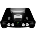 Nintendo 64 black icon