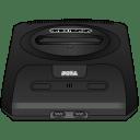 Sega Genesis black icon