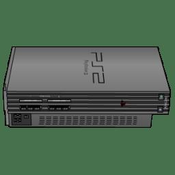 Playstation 2 silver icon