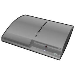 Playstation 3 silver icon