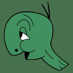 Cecil Turtle no shell icon