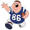 Peter Griffin Football icon