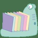 Monster folder icon
