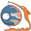 Monster firefox icon