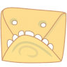 Monster-mail icon