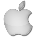 Apple grey icon