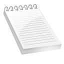 Bloc notes icon