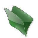 Dossier vert icon