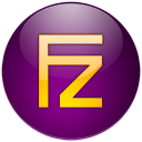 Filezilla violet icon