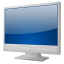 TV ecran plat icon