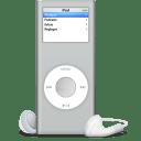 iPod nano argente icon