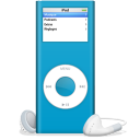 iPod nano bleu icon