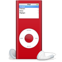 iPod nano rouge SIDA icon