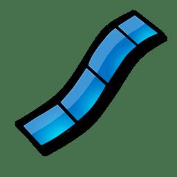 Bande video icon
