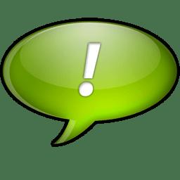 Chat vert icon