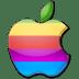 Apple-multicolor icon