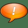 Chat-orange icon