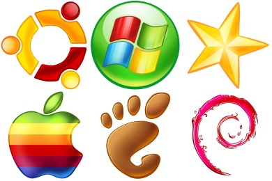 Operating Systems Icons
