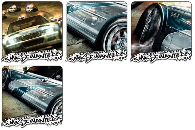 NFS Most Wanted Icons