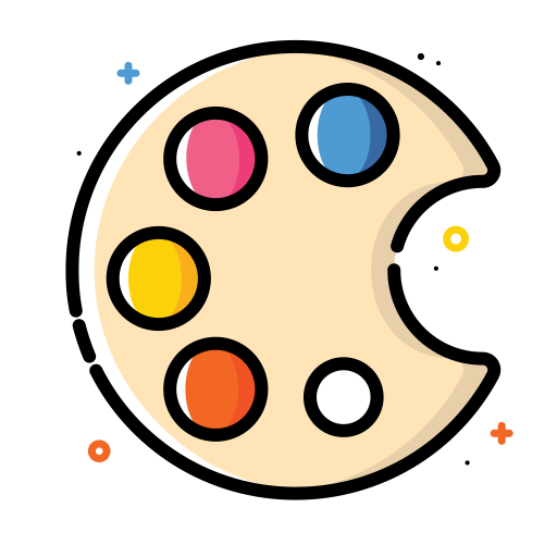 Painting-palette icon