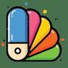Color-catalog icon