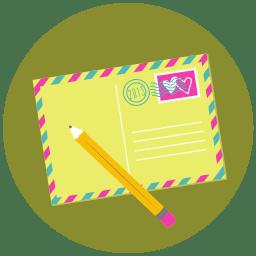 Write Pencil Mail icon