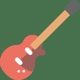 Guitar bass icon