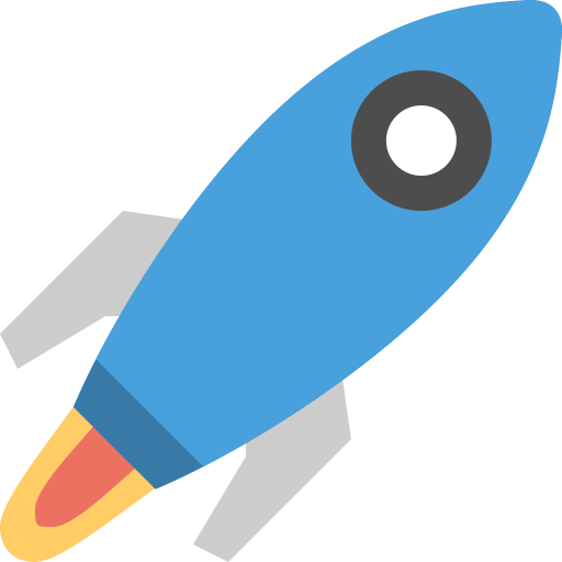 Space-rocket icon