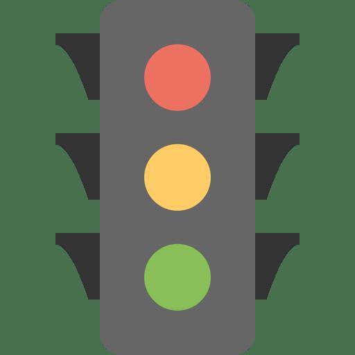 Traffic-light icon