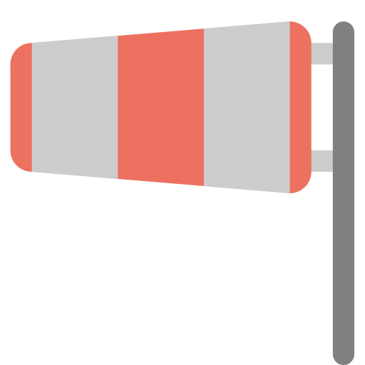 Wind-sock icon