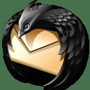 Black Thunderbird icon