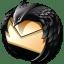 Black-Thunderbird icon