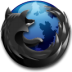 Black-Firefox icon