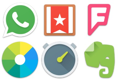 Android Lollipop Apps Icons