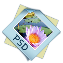 Filetype psd icon