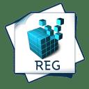 Filetype reg icon