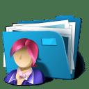 Folder users icon
