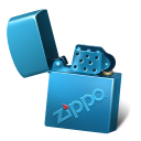 Lighter zippo icon