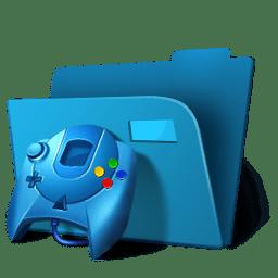 Folder games icon