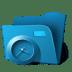 Folder-clock icon