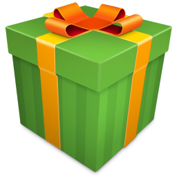 Christmas Gift green icon