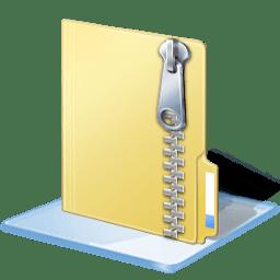 Windows 7 zip icon