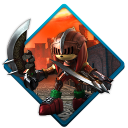 Sonic black knight icon