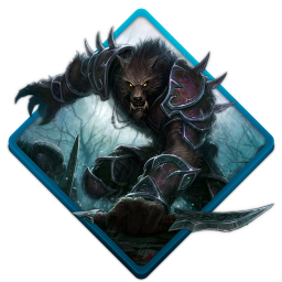 Wow worgen icon