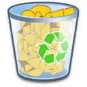 System Recycle Bin Full icon