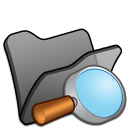 Folder black explorer icon